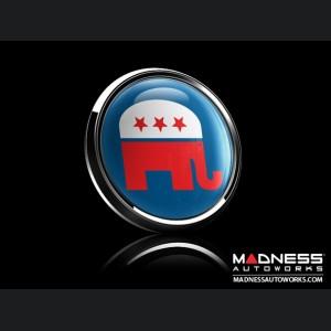 Grill Badge -  Republican Elephant