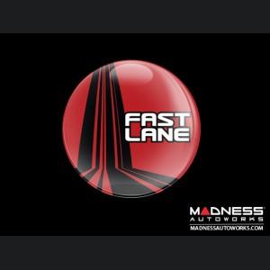 Grill Badge - Fast Lane