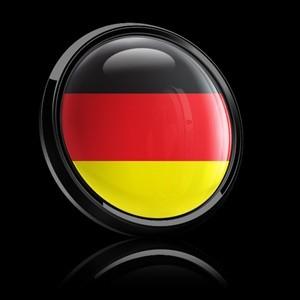 Grill Badge - German Flag