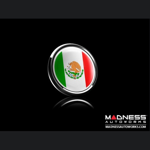 Grill Badge - Mexico Flag