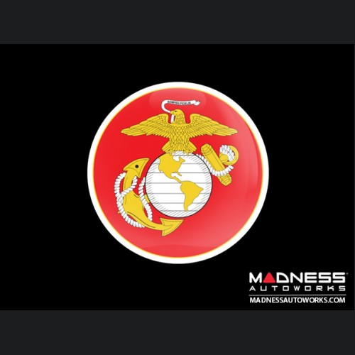 Grill Badge -  Military Marine