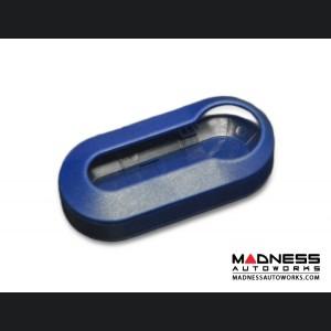 FIAT 500 Key Covers (2) - Blue