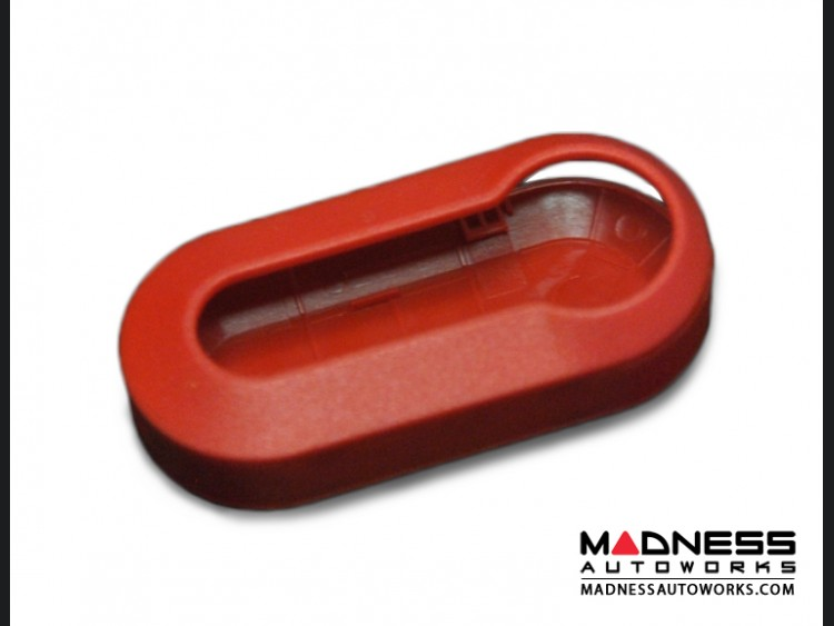 FIAT 500 Key Cover Set (2) - Red