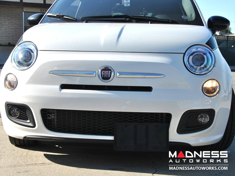 FIAT 500 License Plate Mount - Retractable - All Models & FIAT 500 License Plate Mount - Retractable - All Models - FIAT 500 ...