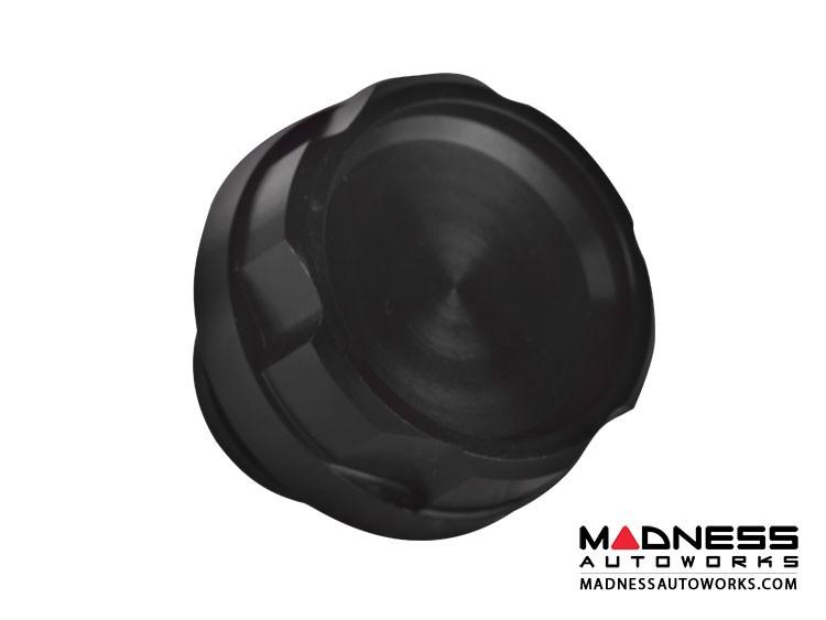 FIAT 500X Oil Cap - Black Anodized Billet