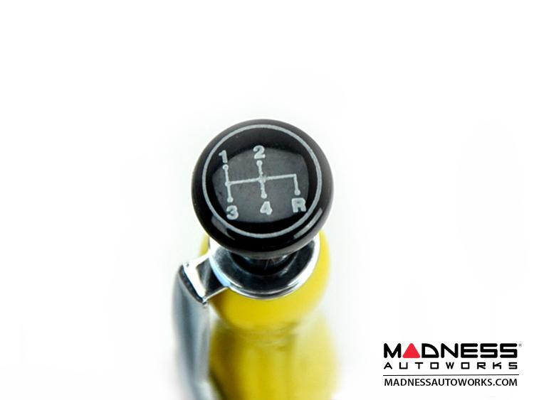 Classic FIAT 500 Pen - Classic Italian Style - Yellow Color