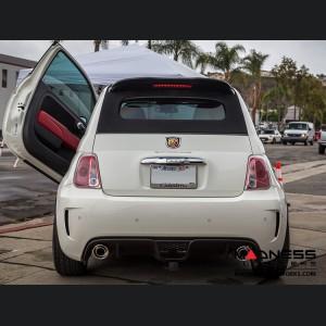 FIAT 500 ABARTH Cabrio Roof Spoiler Extension - Carbon Fiber
