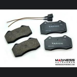 FIAT 500 Brake Pads - Front - Tarox - Strada Fast Road - Brembo 4 Piston Upgraded Calipers