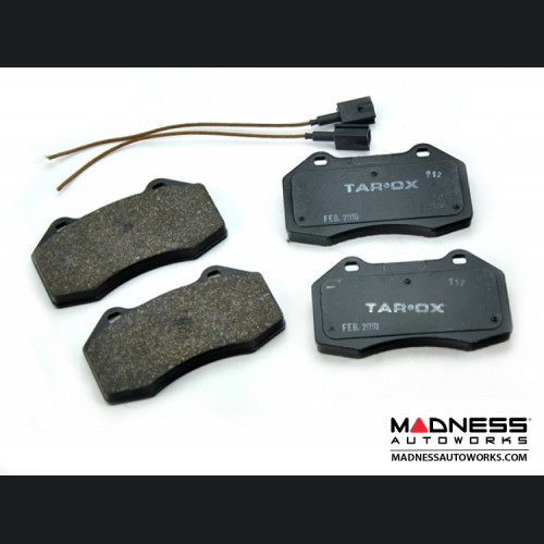 FIAT 500 Brake Pads for Brembo Brakes by Tarox (Strada Fast Road Pads)
