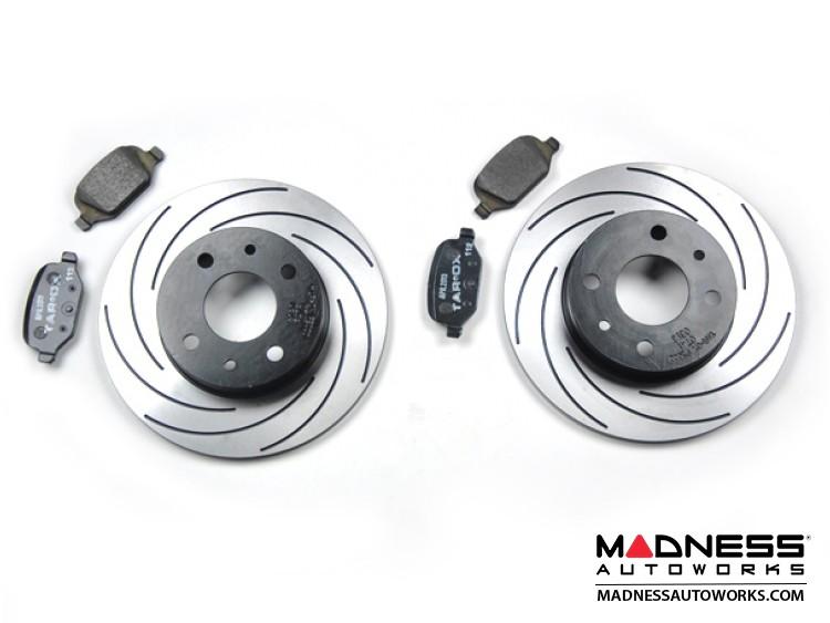 FIAT 500 Brake Rotors + Brake Pads - Rear - Tarox - Fast Road - All Models