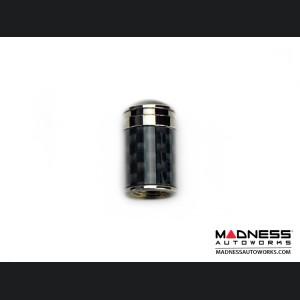 Valve Caps (4) - V3 - Carbon Fiber w/ Polished Tip