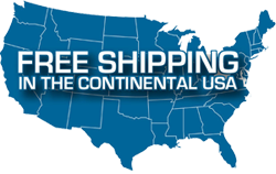 Free Continental Shipping